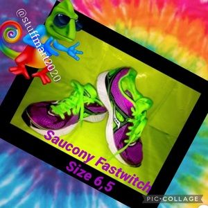 SAUCONY FASTWITCH WOMENS RUNNERS/SNEAKERS SZ 6.5